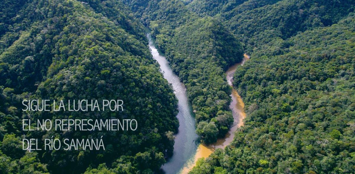 Sigue la lucha por el no represamiento del río Sam…