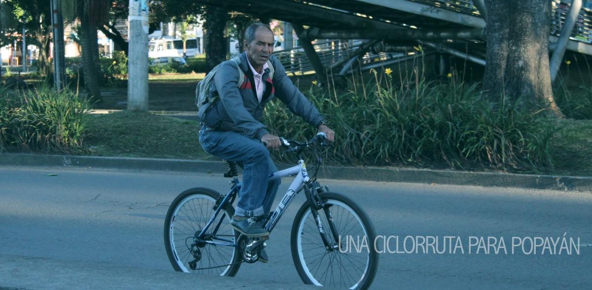 Una ciclorruta para Popayán En Popayán el 6% de la…